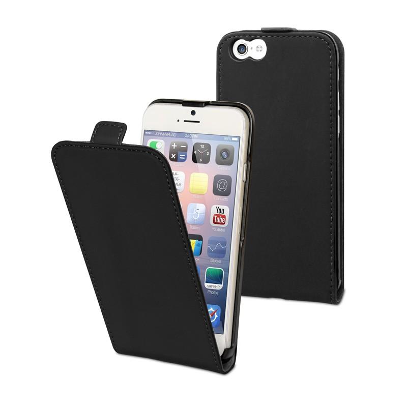 Muvit Slim Flip Case iPhone 6 Plus Black - 1