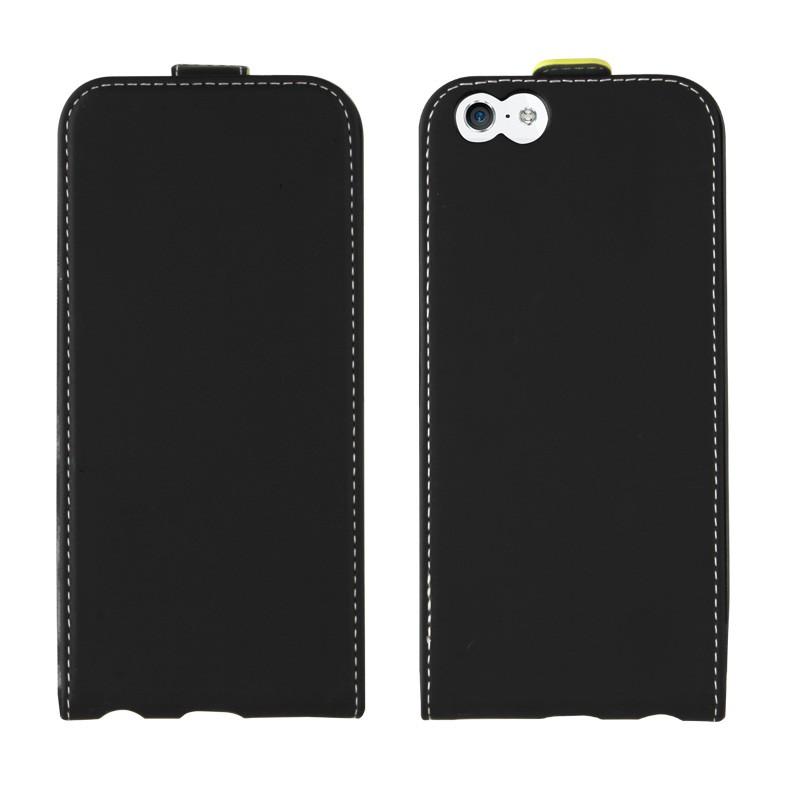 Muvit Slim Flip Case iPhone 6 Plus Black - 2