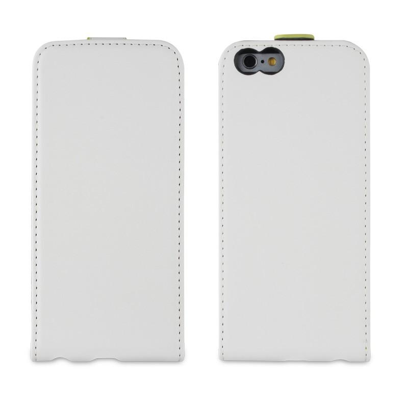 Muvit Slim Flip Case iPhone 6 White - 2