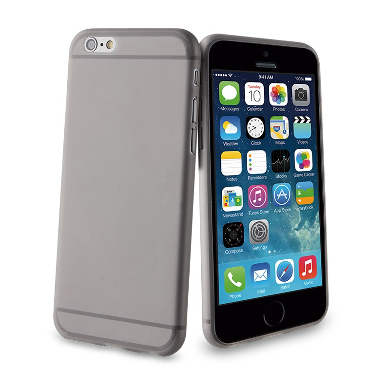 Muvit ThinGel iPhone 6 Black  - 1