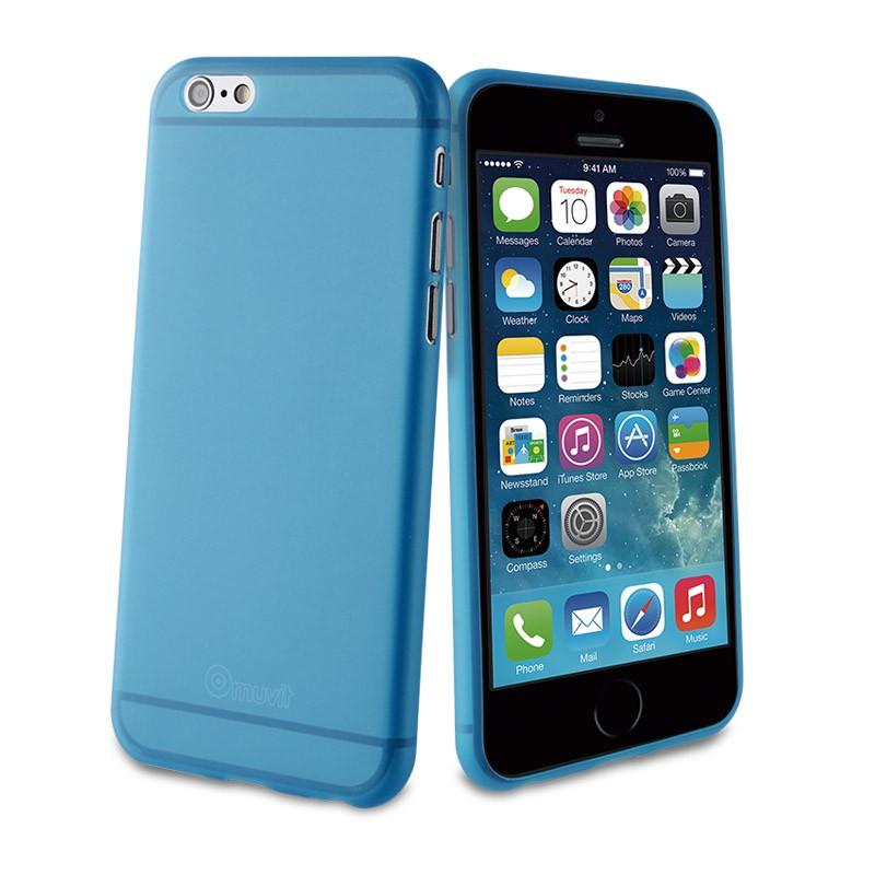 Muvit ThinGel iPhone 6 Blue - 1