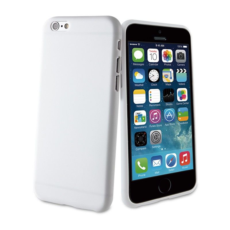 Muvit ThinGel iPhone 6 White - 1