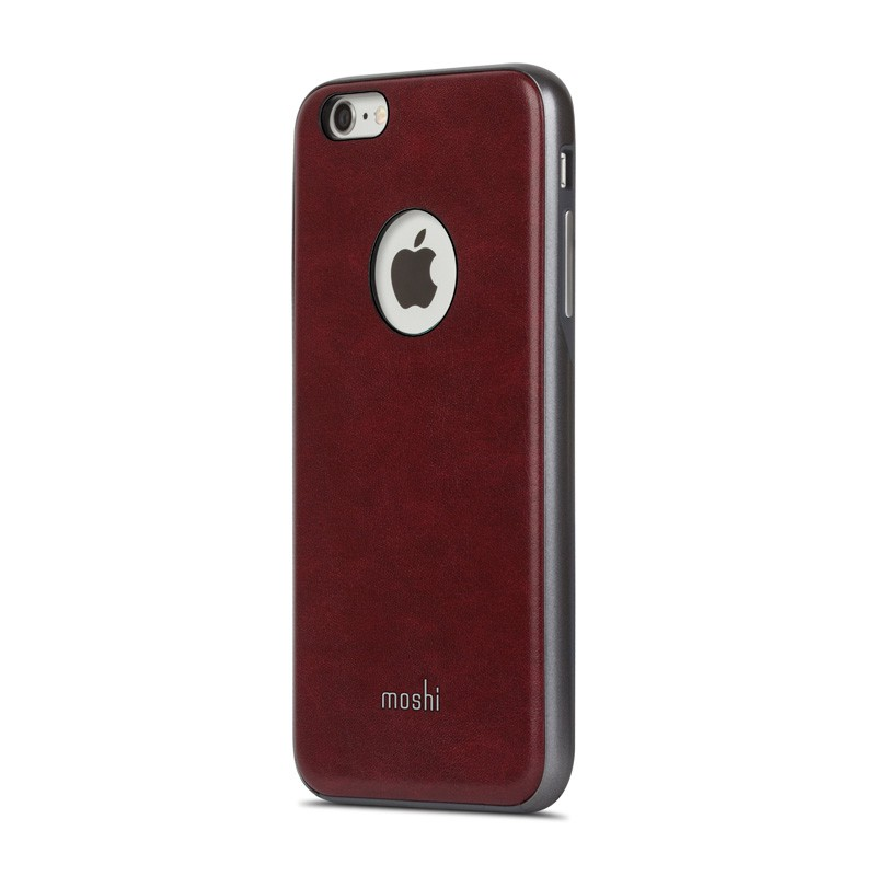 Moshi iGlaze Napa iPhone 6 Plus / 6S Plus Red - 3
