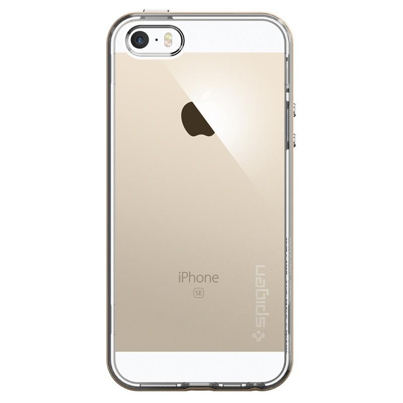 Spigen Neo Hybrid Crystal iPhone SE / 5S / 5 Champagne Gold - 1