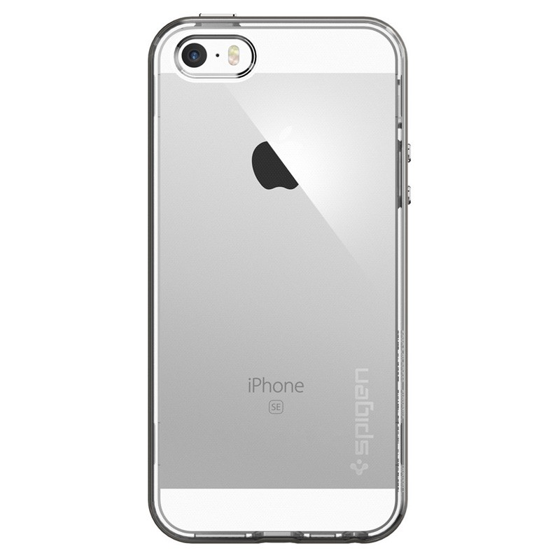 Spigen Neo Hybrid Crystal iPhone SE / 5S / 5 Gunmetal - 1