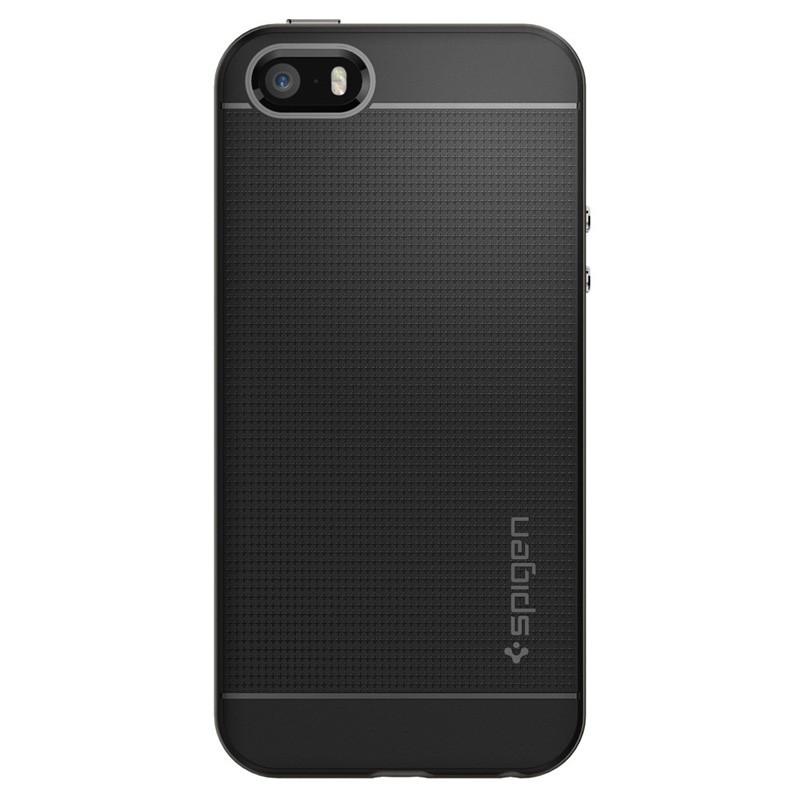 Spigen Neo Hybrid iPhone SE / 5S / 5 Gunmetal - 1