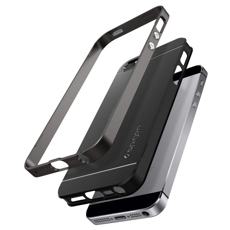 Spigen Neo Hybrid iPhone SE / 5S / 5 Gunmetal - 5