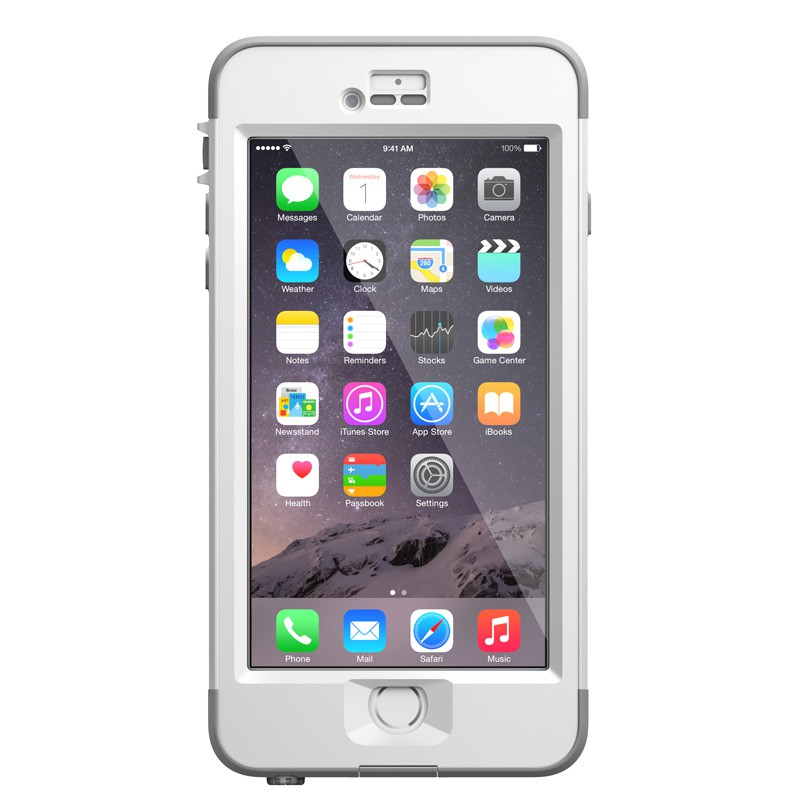 LifeProof Nuüd iPhone 6 Plus White - 1