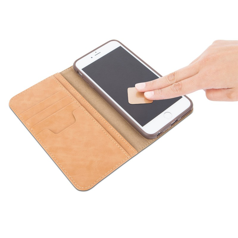 Moshi Overture Wallet Case iPhone 6 Sahara Beige - 6