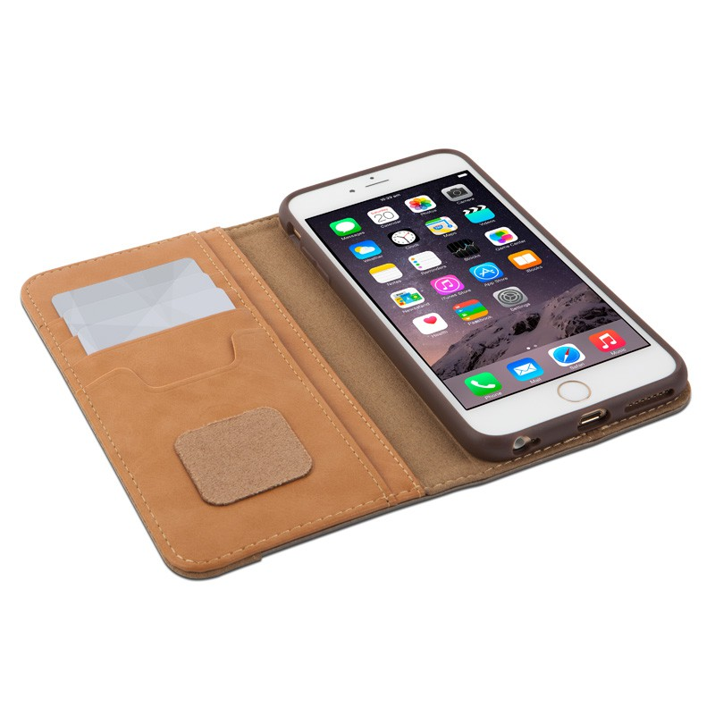 Moshi Overture Wallet Case iPhone 6 Plus Brushed Titanium - 3