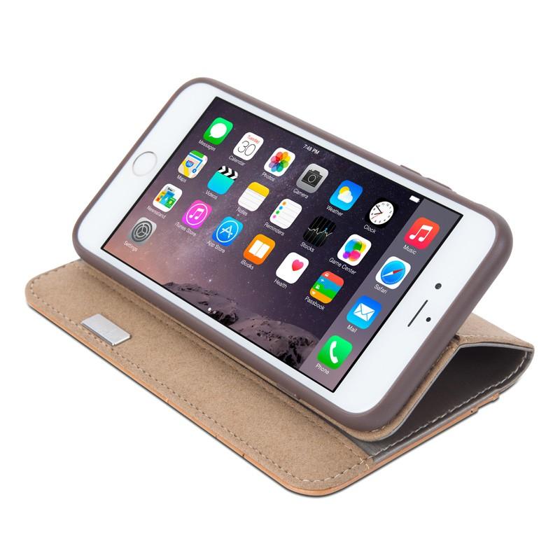 Moshi Overture Wallet Case iPhone 6 Plus Brushed Titanium - 5