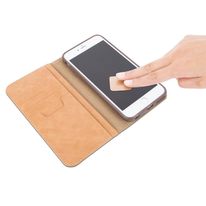Moshi Overture Wallet Case iPhone 6 Plus Brushed Titanium - 6