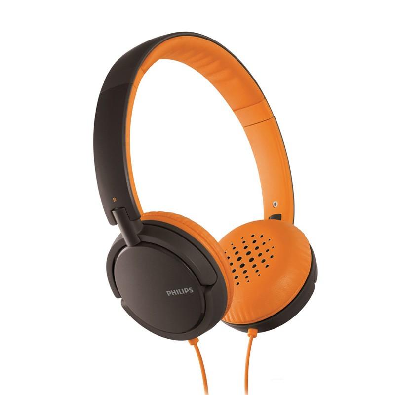 Philips SHL5001 On-ear Koptelefoon Black/orange - 1