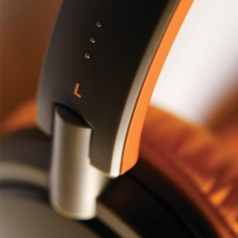Philips SHL5001 On-ear Koptelefoon Black/orange - 5