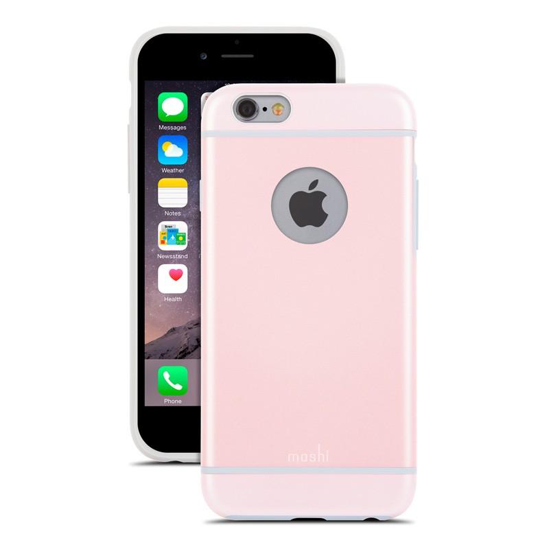 Moshi iGlaze iPhone 6 Pink - 2