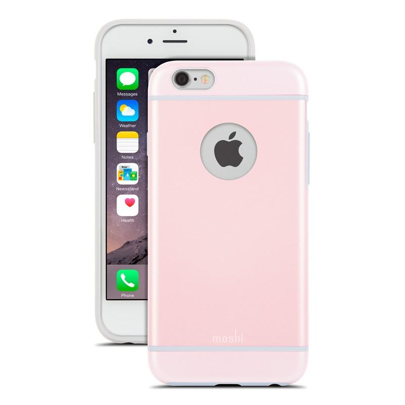 Moshi iGlaze iPhone 6 Pink - 1
