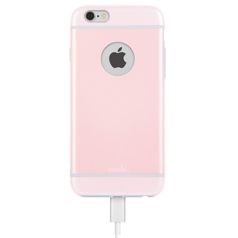 Moshi iGlaze iPhone 6 Pink - 3