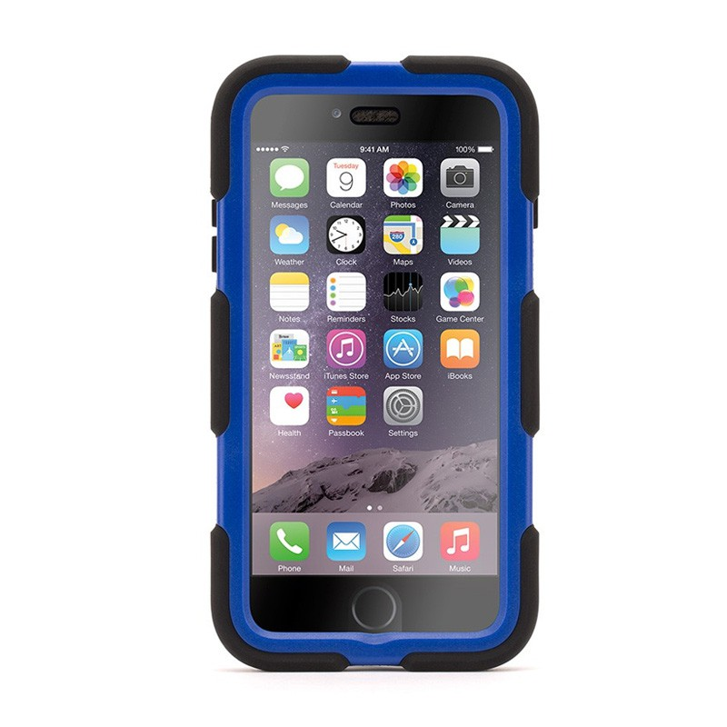 Griffin Survivor Case iPhone 6 Plus Black/Blue - 1