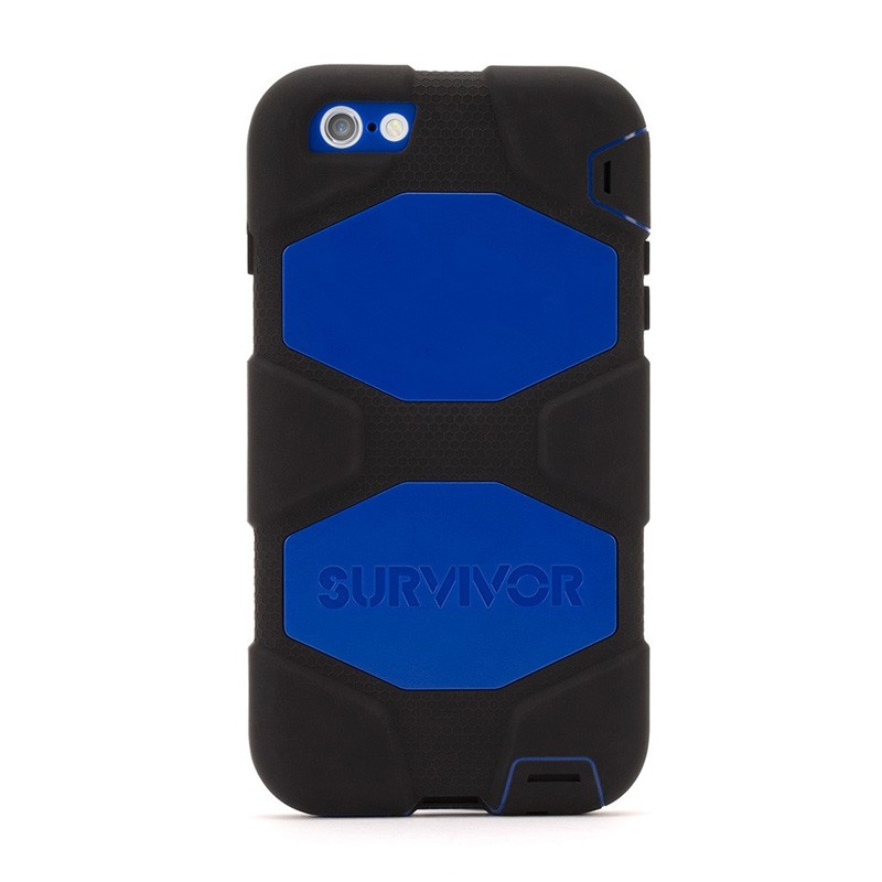 Griffin Survivor Case iPhone 6 Plus Black/Blue - 2