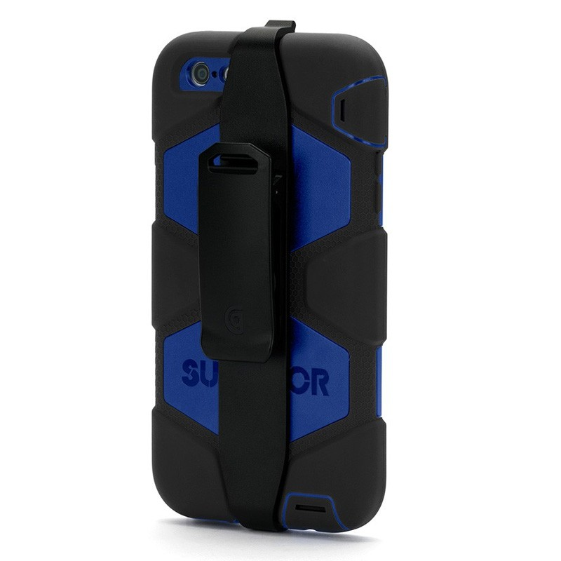 Griffin Survivor Case iPhone 6 Plus Black/Blue - 3