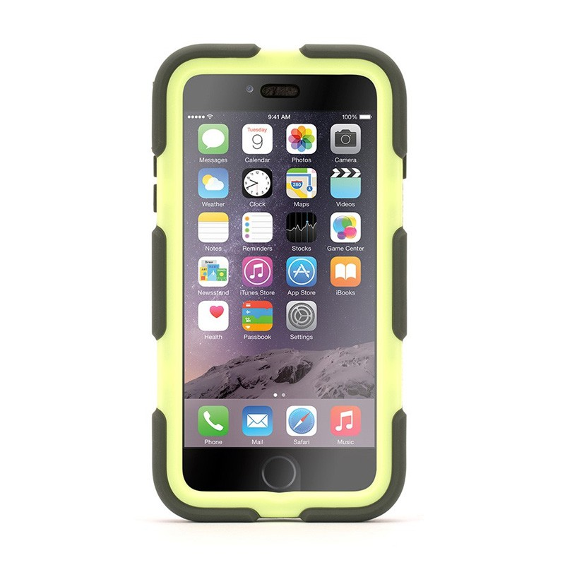 Griffin Survivor Case iPhone 6 Plus Olive/Lime - 1