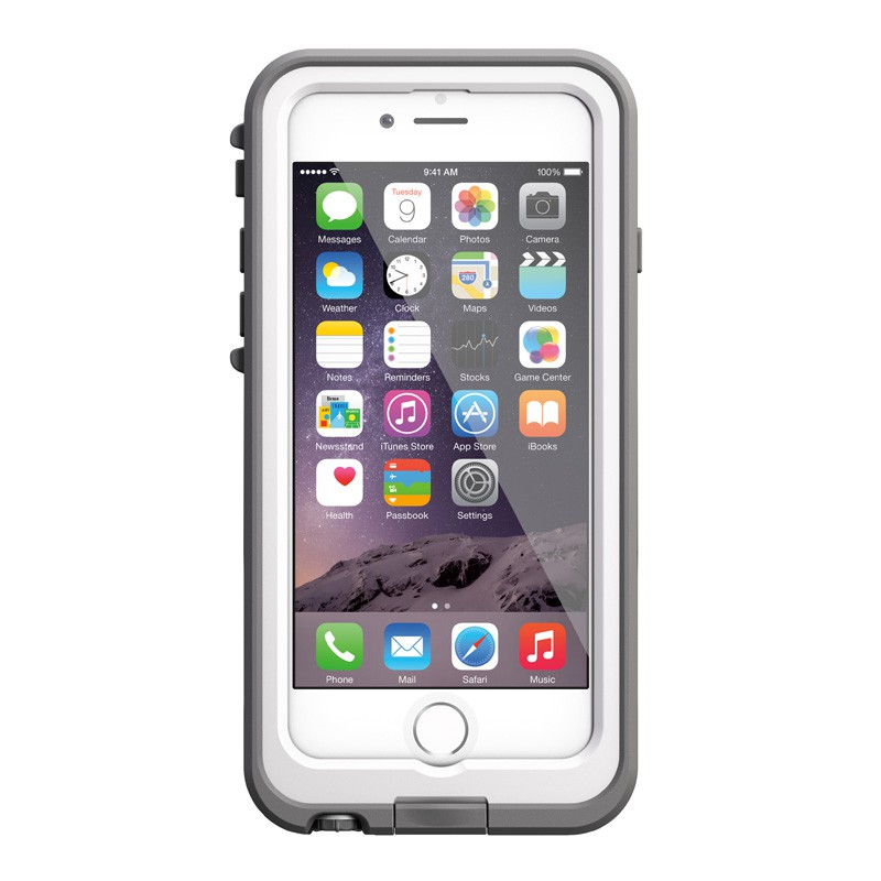 LifeProof - Fre Power Case iPhone 6 / 6S White - 1