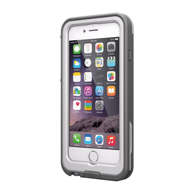 LifeProof - Fre Power Case iPhone 6 / 6S White - 2