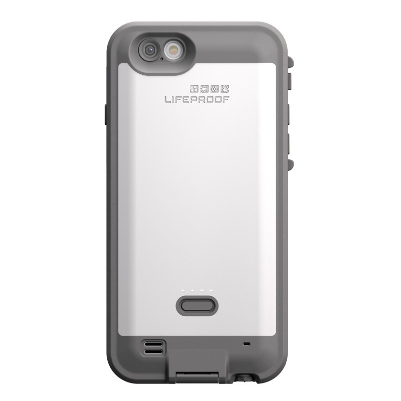 LifeProof - Fre Power Case iPhone 6 / 6S White - 3