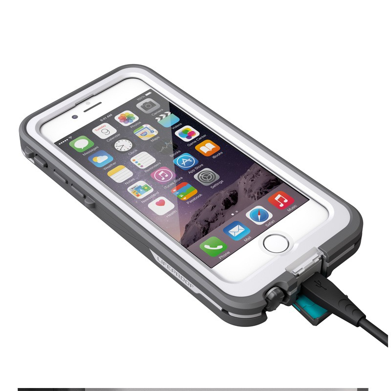 LifeProof - Fre Power Case iPhone 6 / 6S White - 7