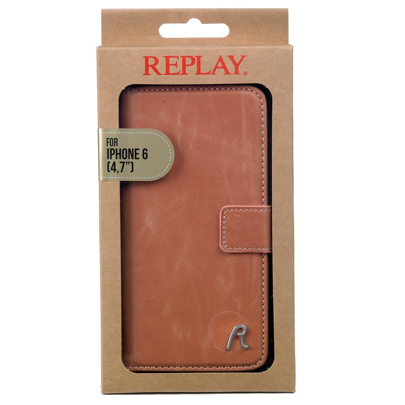 Replay Booklet Case iPhone 6 Pink  - 2