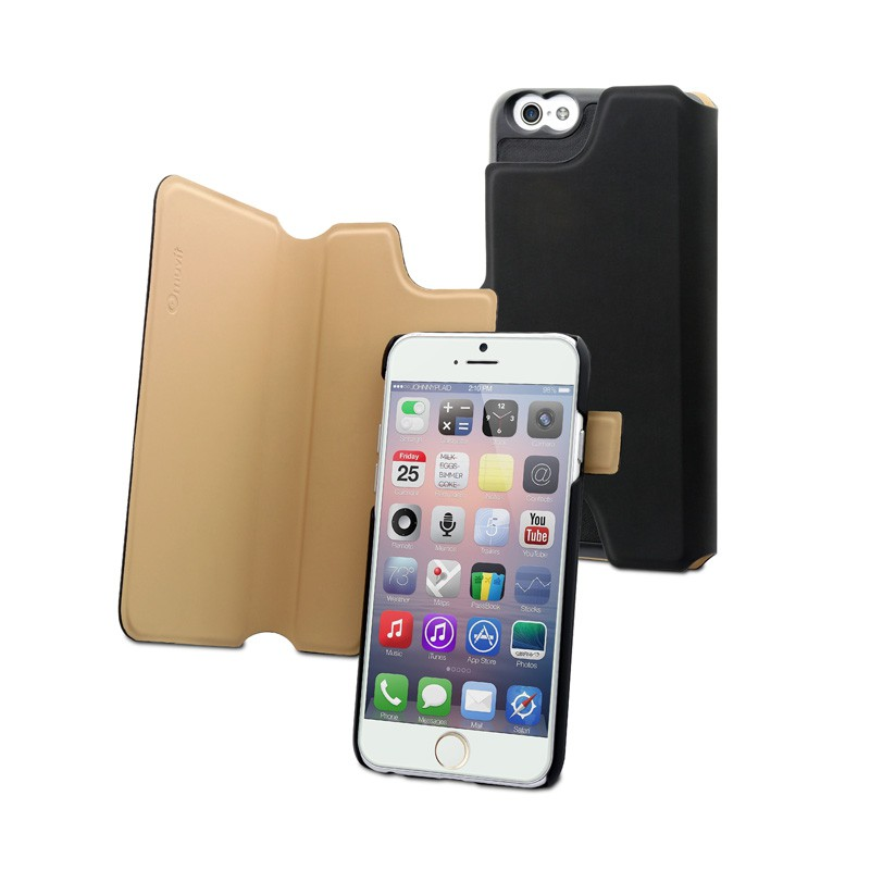 Muvit Magic Reverso Case iPhone 6 Plus Black/Sand