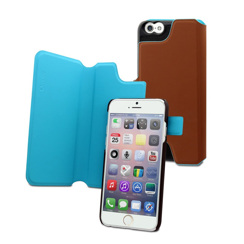 Muvit Magic Reverso Case iPhone 6 Plus Brown/Blue
