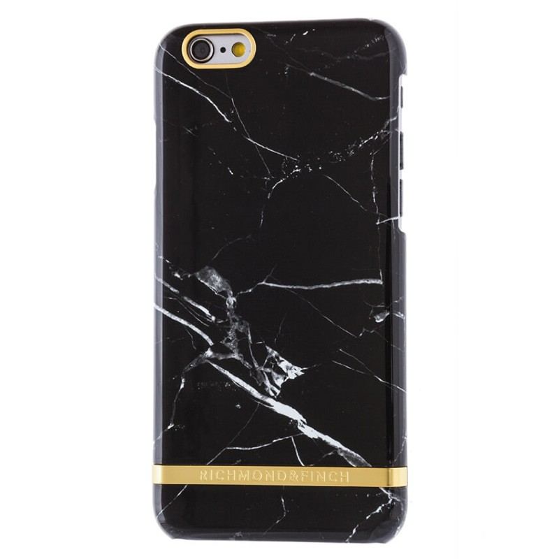 Richmond & Finch - Marble Case iPhone 6 Plus / 6S Plus Black 01