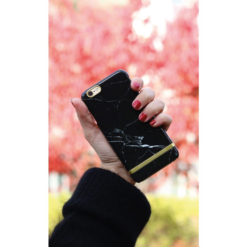 Richmond & Finch - Marble Case iPhone 6 Plus / 6S Plus Black 02