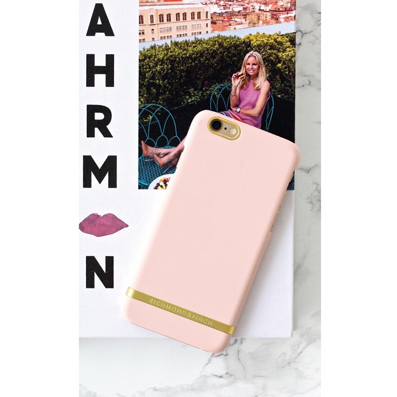 Richmond & Finch - Classic Satin Case iPhone 6 Plus / 6S Plus Satin Pink 02