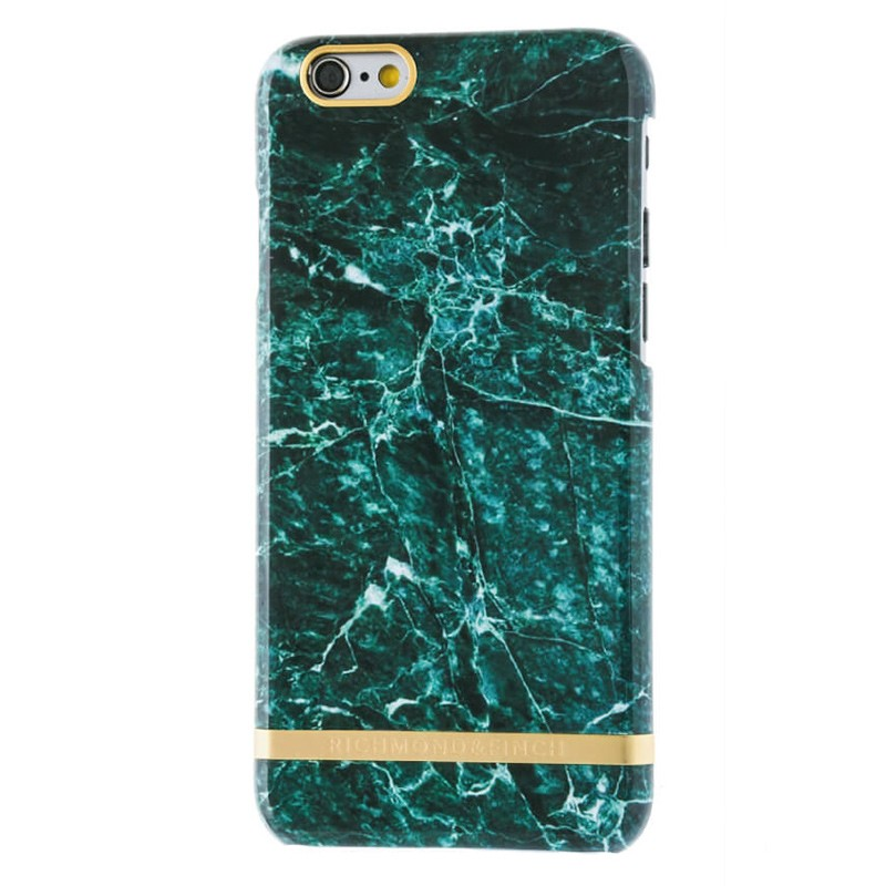 Richmond & Finch - Marble Case iPhone 6 Plus / 6S Plus Green 01