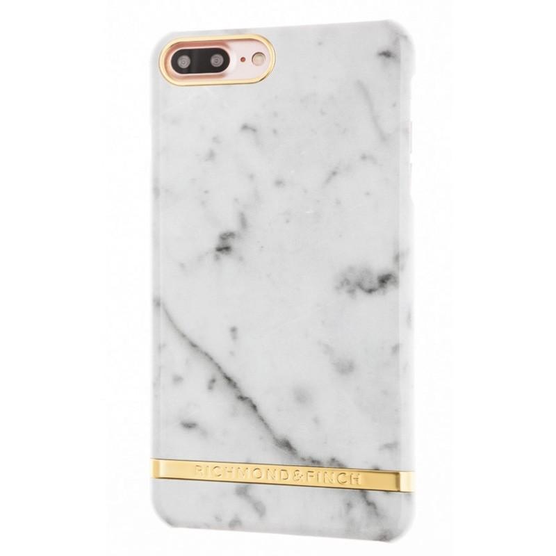 Richmond & Finch Marble Case iPhone 7 Plus White - 1
