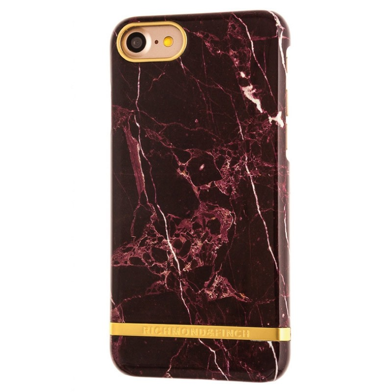 Richmond & Finch Marble Case iPhone 7 Red - 1
