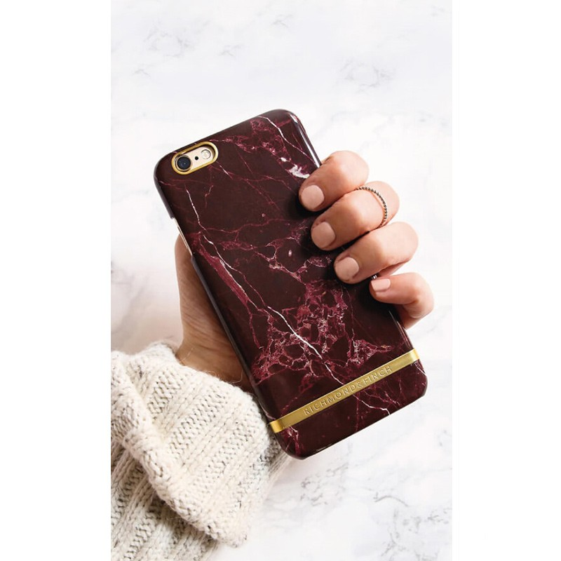 Richmond & Finch - Marble Case iPhone SE / 5S / 5 Red 02