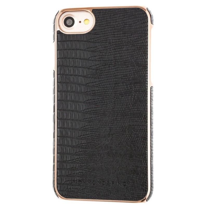 Richmond & Finch Framed Rosé Reptile iPhone 7 Black - 1