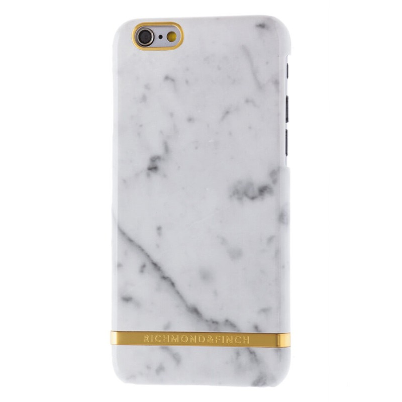 Richmond & Finch - Marble Case iPhone 6 Plus / 6S Plus White 01