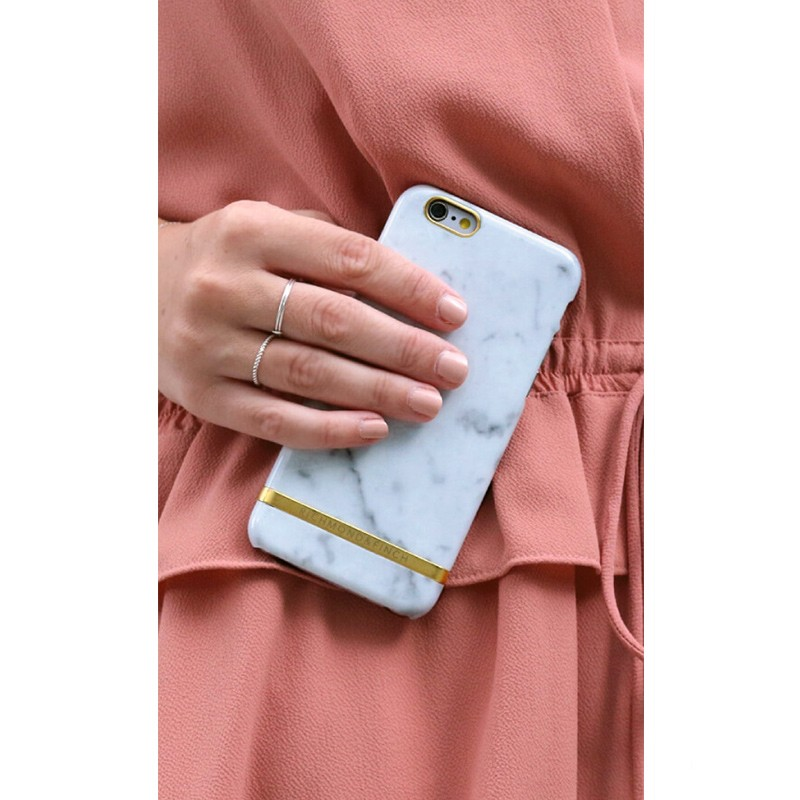 Richmond & Finch - Marble Case iPhone 6 Plus / 6S Plus White 03