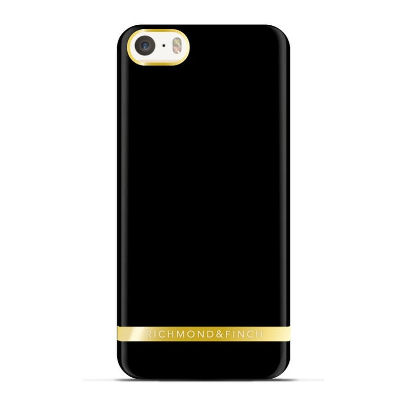 Richmond and Finch Soft Satin Case iPhone SE/5S/5 Black - 1