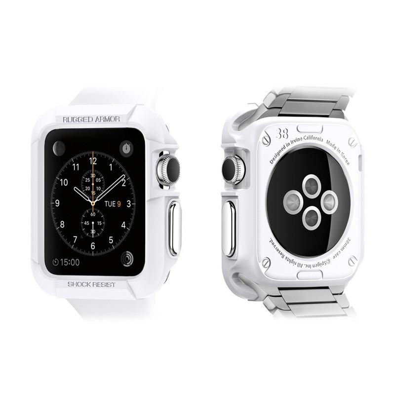 Spigen Rugged Armor Apple Watch 42mm White - 2