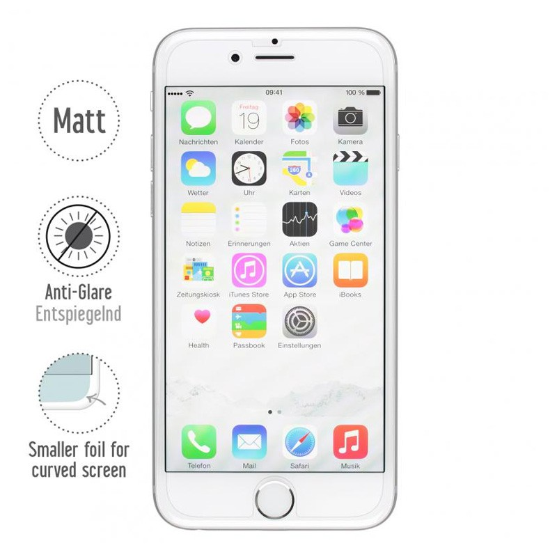 Artwizz ScratchStopper Anti-Fingerprint iPhone 6 Plus - 1