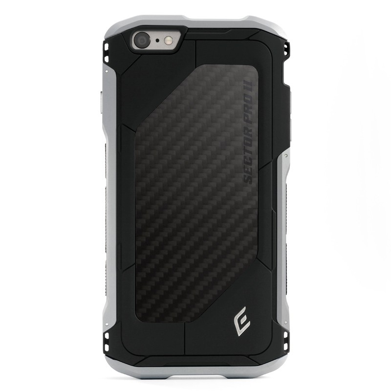 Element Case Sector Pro II iPhone 6 Black/Silver - 1