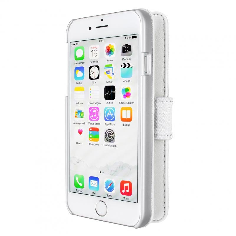 Artwizz SeeJacket Leather iPhone 6 Plus White - 5