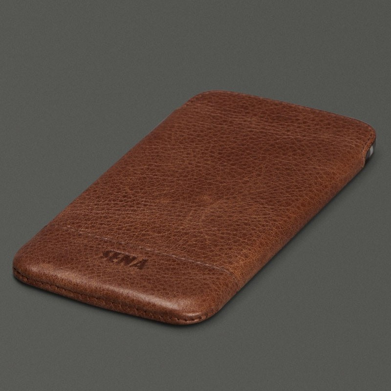 Sena Heritage Ultraslim iPhone 7 Cognac - 1