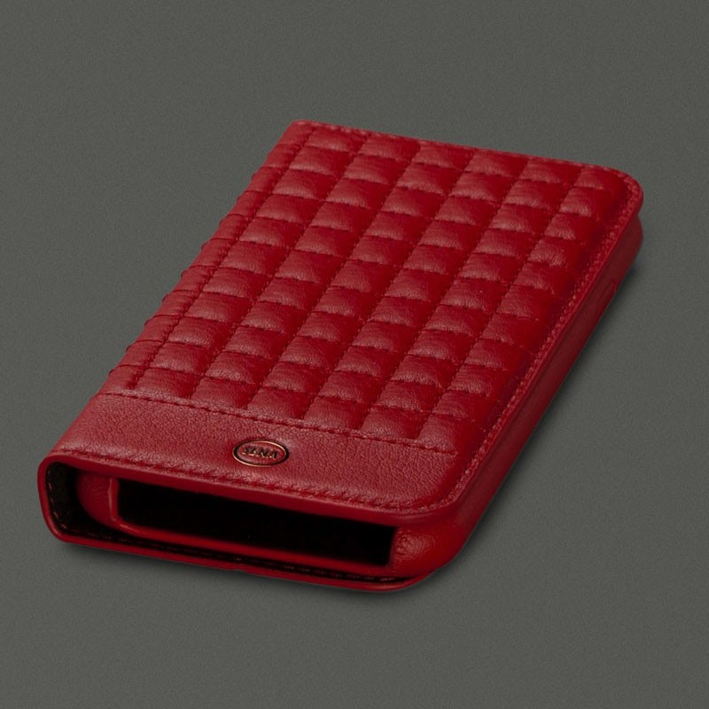 Sena Isa Quilted Wallet iPhone 7 Red - 1
