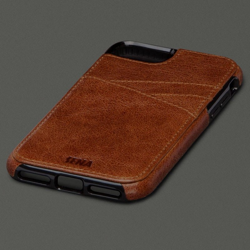 Sena Lugano Wallet iPhone 7 Brown - 1